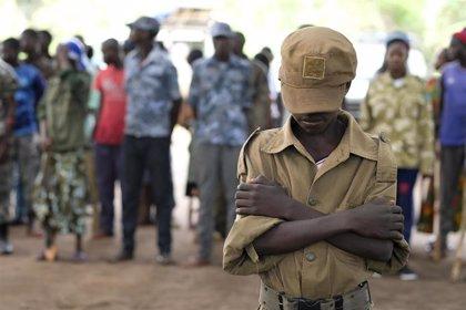 Liberados 32 niños soldado reclutados por grupos rebeldes en Sudán del Sur