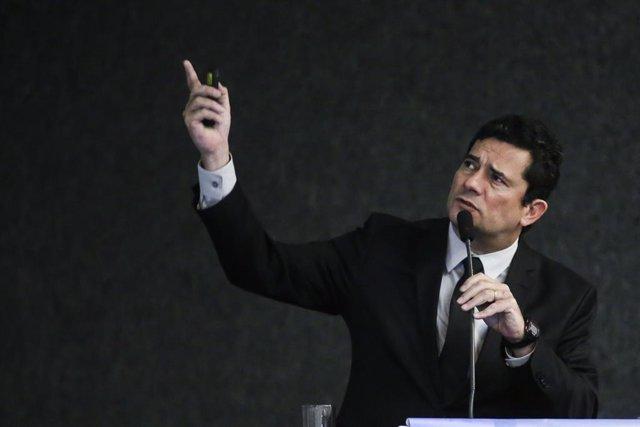 El ministro brasileño de Justicia, Sergio Moro
