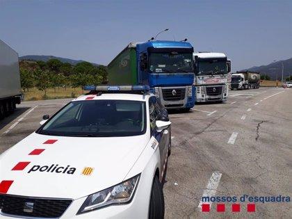 Denunciados en dos horas tres conductores de camiones por positivo en alcoholemia