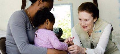 UNICEF ayudó a vacunar a casi la mitad de los niños de todo el mundo en 2018