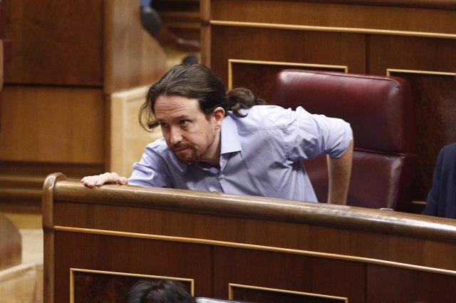 El secretari general de Podem, Pablo Iglesias