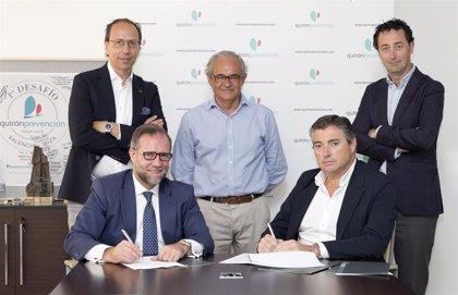 Quirónprevención firma un convenio con ADiReLab para ampliar la seguridad y salud en el ámbito laboral