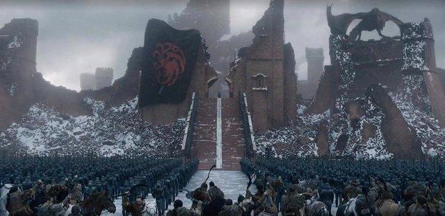 Fotograma de la 8ª temporada de Juego de tronos