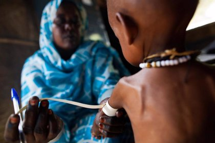 La malnutrición grave de los niños reduce la eficacia del tratamiento contra la malaria