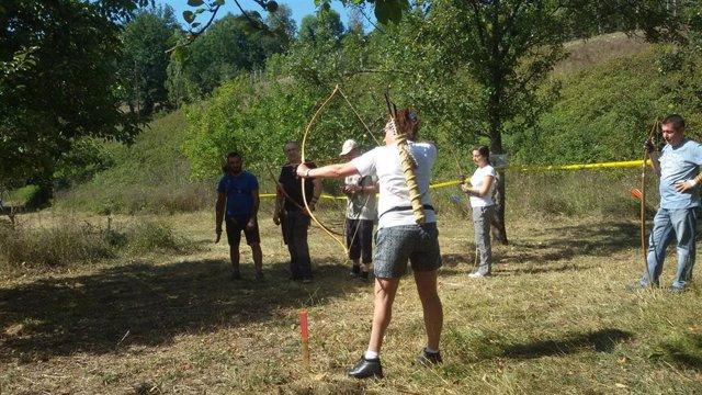 Campeonato de tiro con arco.
