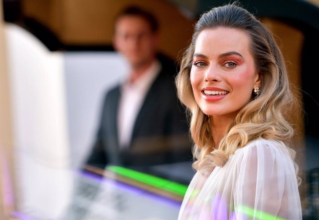 Margot Robbie en la premiere de Érase una vez en Hollywood