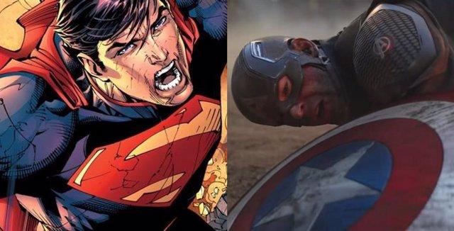 Capitán América y Superman