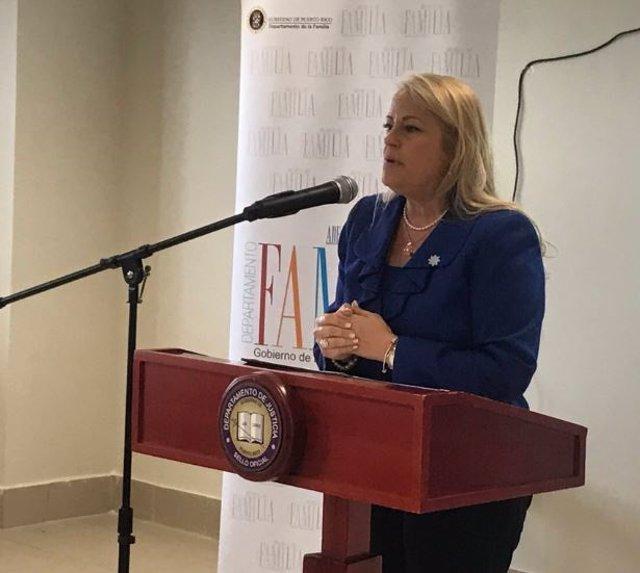 La secretaria de Justicia de Puerto Rico, Wanda Vázquez