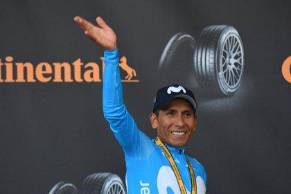 """Nairo Quintana: """"Es, ante todo, una victoria de mis compañeros"""""""