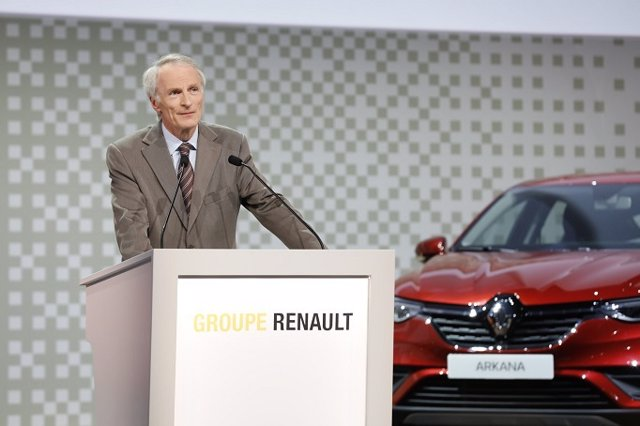 Jean-Dominique Senard, presidente del grupo Renault