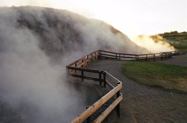 Deildartunguhver. Aguas termales en Islandia