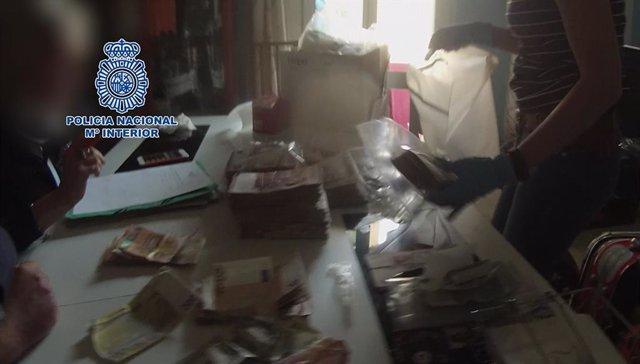 Captura del vídeo de la Policia Nacional