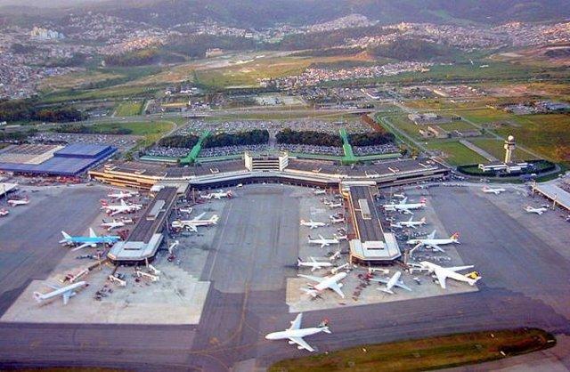 Aeroport De Guarulhos, el Brasil