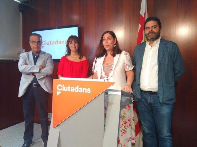 Luz Guilarte, Celestino Corbacho, Paco Sierra i Marilén Barceló