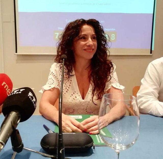 La consejera de Igualdad, Políticas Sociales y Conciliación de la Junta de Andalucía, Rocío Ruiz.