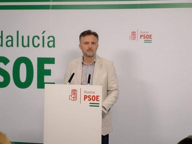 El coordinador de la Secretaría General del PSOE de Andalucía, José Fiscal.