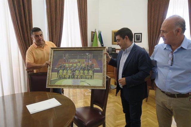 Encuentro con la directiva del Jaén Paraíso Interior FS
