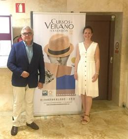 Gregorio Varela y Raquel Gómez en curso UC Laredo