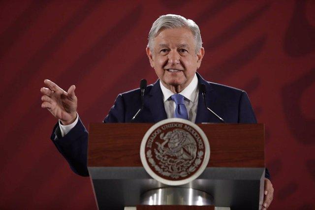 El presidente de México, Andrés Manuel Lóepz Obrador