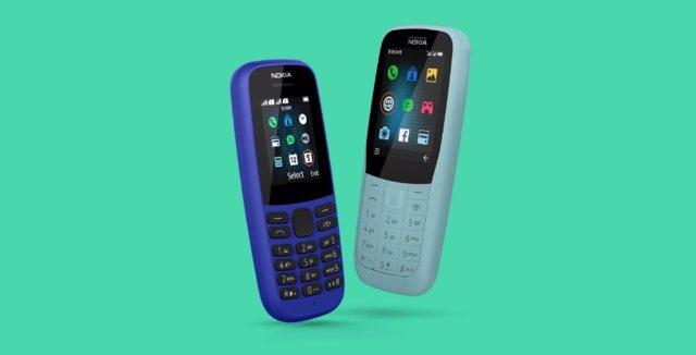 Nuevos smartphones básicos y asequibles Nokia 220 4G y Nokia 105