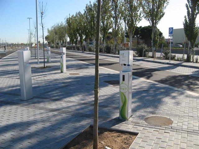 Puntos De Recarga Para Vehículos En La Zona Franca De Barcelona