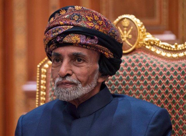 El sultán de Omán, Qabus bin Said
