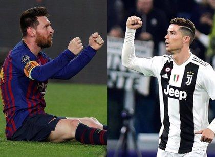 Messi y Cristiano, nominados por la UEFA al mejor gol de la temporada 2018-19