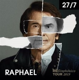 Cartel del tour 'RESinphónico' de Raphael