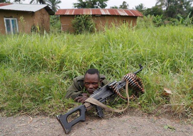 Soldado de República Democrática del Congo