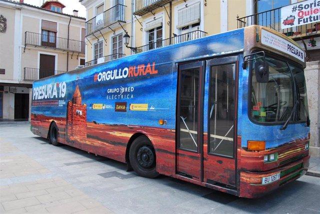 El Autobús de la Repoblación de Presura viaja esta semana a Oliete y Caspe.