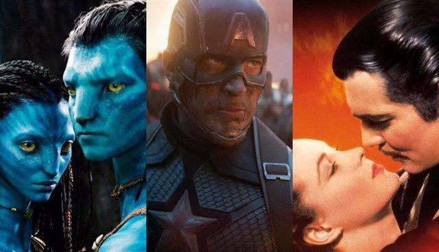 'Avatar', 'Vengadores: Endgame' O 'Lo Que El Viento Se Llevó', Algunas De Las Películas Más Taquilleras De La Historia Ajustadas A La Inflación