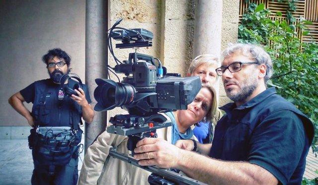 Un concierto en Canfranc este domingo dará inicio al rodaje del documental 'Labordeta, un hombre sin más'.