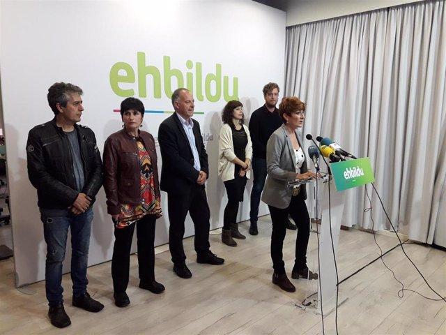 "EH Bildu recuerda a PSN, Geroa Bai, Podemos e I-E que ""no tienen mayoría"" y que sus votos son ""imprescindibles"""