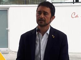 El conseller de Territorio y Sostenibilidad de la Generalita, Damià Calvet
