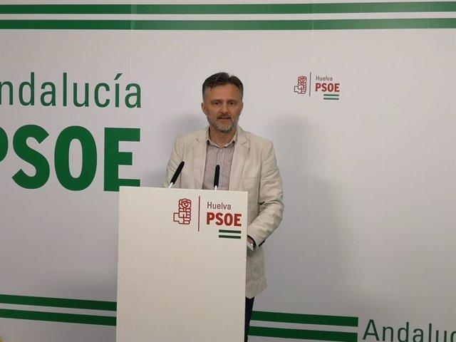 El parlamentario andaluz por el PSOE de Huelva, José Fiscal.