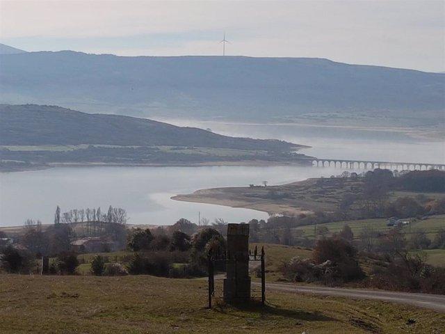El embalse del Ebro baja al 93,9% de capacidad
