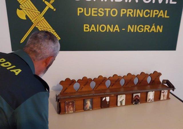 [Grupovigo] Nota De Prensa Detención Autor Robos Iglesia Santa Cristina De A Ramallosa