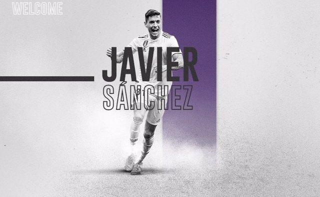 Javier Sánchez, nuevo jugador del Real Valladolid.