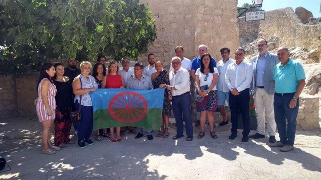 Conmemoración de la Gran Redada de 1749 contra los gitanos en el castillo de Santa Bárbara de Alicante