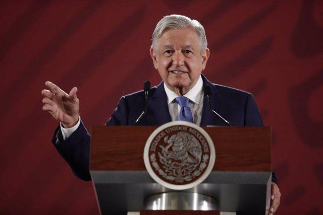 El presidente de México Andres Manuel Lopez Obrador