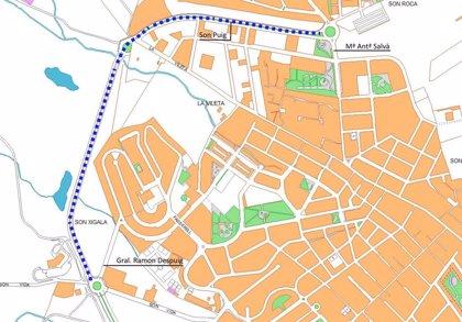 La Policia de Palma talla el trànsit aquest diumenge al carrer Son Puig per la celebració de diverses carreres ciclistes