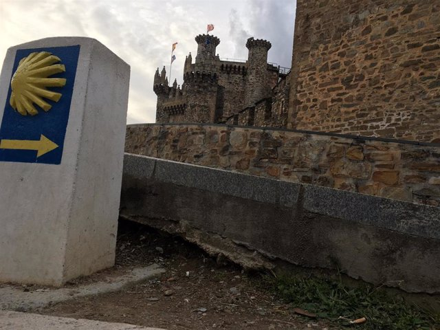 Camino de Santiago a su paso por Ponferrada.