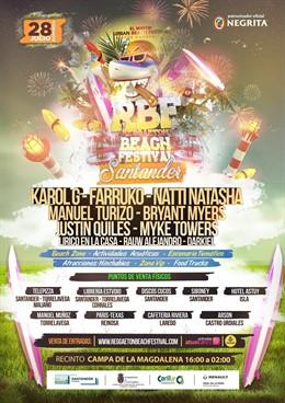 Natti Natasha, Myke Towers, Rauw Alejandro y Darkiel cierran el cartel del Reggaeton Beach Festival