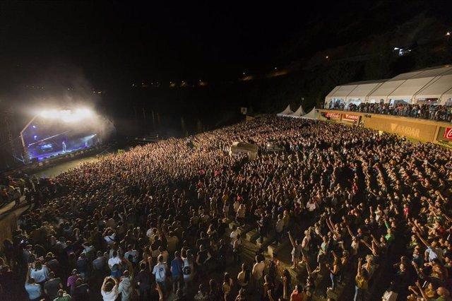 Uno de los conciertos en Pirineos Sur