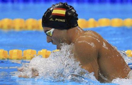 Joanllu Pons, cuarto y con récord de España en la final de los 400 estilos