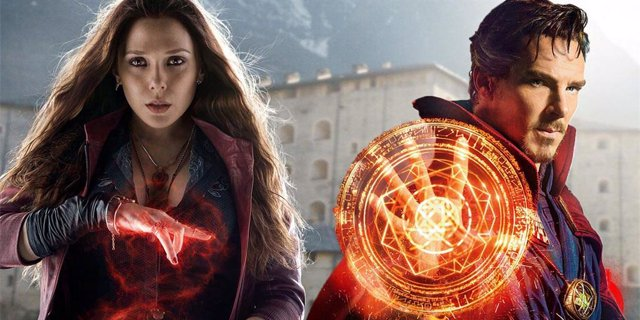 Bruja Escalata y Doctor Strange