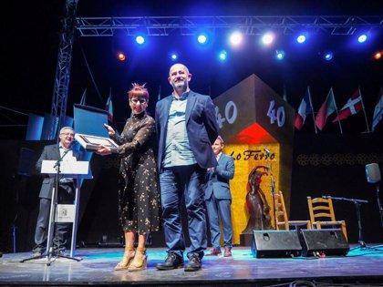 Cádiz recibe la Medalla de Oro del Festival Internacional de Cante Flamenco de Lo Ferro