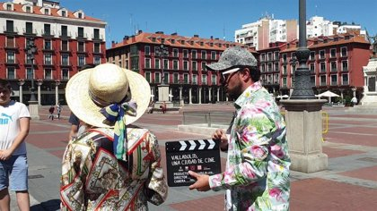 Valladolid se exhibe como  'plató de cine'