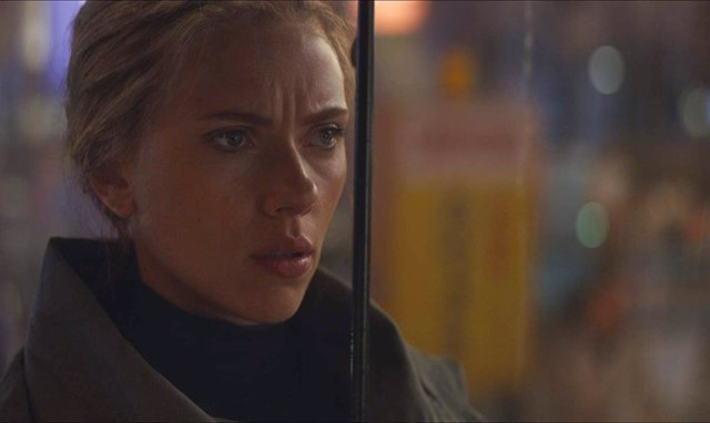 Scarlett Johansson en Vengadores: Endgame