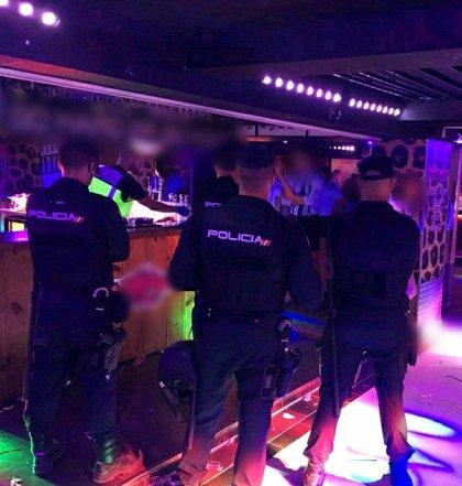 Dos detinguts després d'un operatiu policial a locals d'oci de Platja de Palma